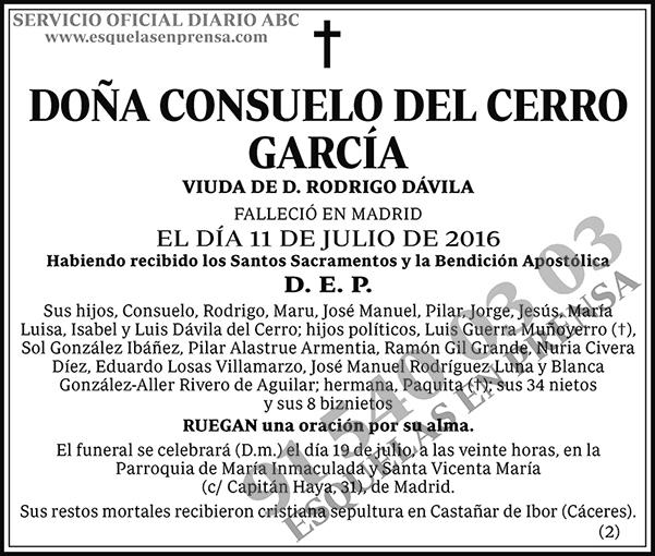 Consuelo del Cerro García